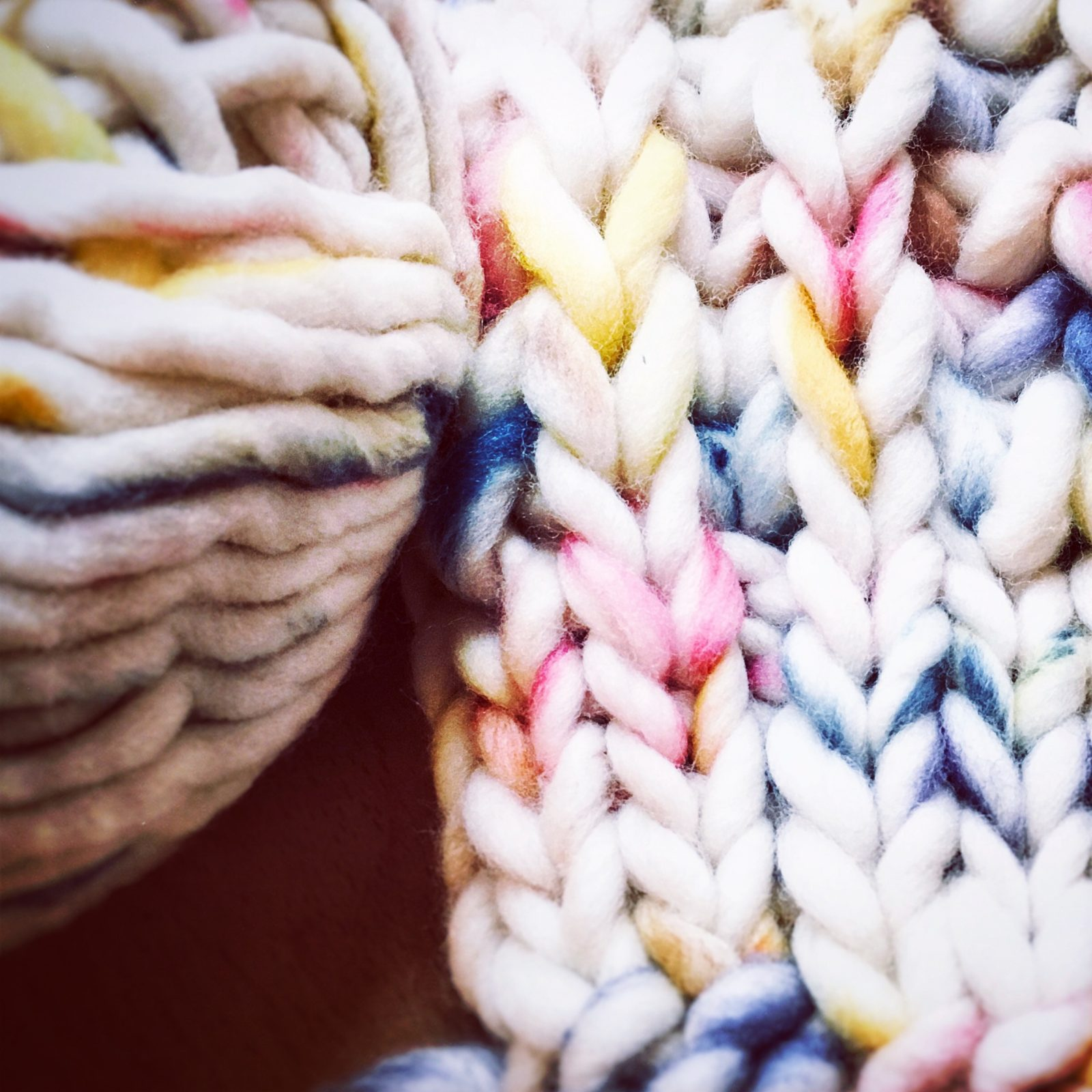 DIY RainbowWool